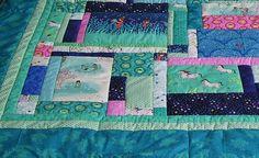 Gastgeschenke - Wee Wander Patchworkdecke - ein Designerstück von meine-bunte-flickenecke bei DaWanda Vintage Stil, Bunt, Designer, Quilts, Etsy, Blanket, Personalized Gifts, Fabrics, Handarbeit