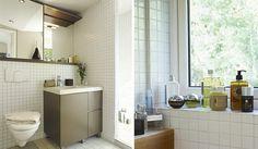 Naturfärgat badrum | Sanka