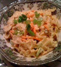 Sweet Tea and Cornbread: Buffalo Chicken Pasta Salad!