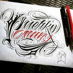 Black Barros is our first of many featured calligraphy and custom lettering artists on the Script Killas blog! Black Barros, a.k.a Ricardo Barros is a unique and talented custom lettering artist with a great style.  Follow Black Barros on Instagram.                🠘 Share