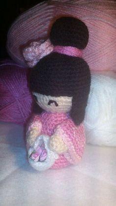 Kokeshi Doll free Pattern