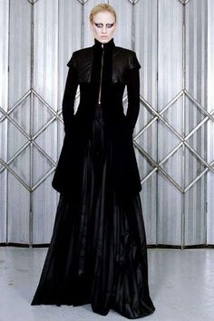 Luxe Metallic Frocks : Gareth Pugh Winter 2011 Collection