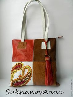 Fabric Handbags, Purses And Handbags, Leather Handbags, Patchwork Bags, Quilted Bag, Bag Packaging, Linen Bag, Handmade Handbags, Couture Bags