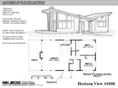 Horizon View #1008 Plan
