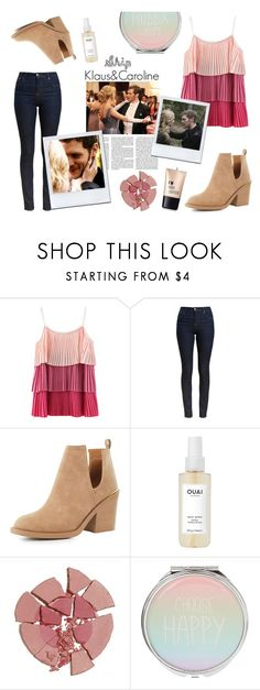 """""""Caroline Forbes style. Ship Klaroline."""" by spencer-hastings-5 ❤ liked on Polyvore featuring Barbour, Qupid, Ouai, Charlotte Tilbury, Charlotte Russe and tvd"""