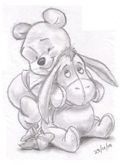 Winnie the pooh and eeyore More