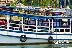 boat in chai chet, koh chang , thailand