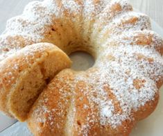 Bunt Cakes, Czech Recipes, Food Decoration, Dessert Recipes, Desserts, Bagel, Doughnut, Sweet Tooth, Food And Drink
