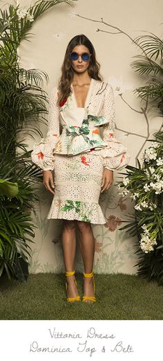 In the love of fashion, you can find it at Saks psst.for a steal. Fashion Story, Love Fashion, Girl Fashion, Fashion Outfits, Womens Fashion, Fashion Trends, Honeymoon Attire, Estilo Fashion, African Fashion