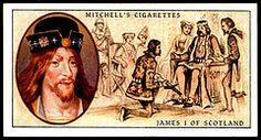 Cigarette Card - James I, King of Scotland