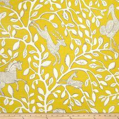 Yellow animal print