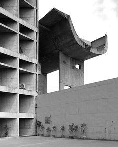 Palais de l'Assemblée  Reportage Le Corbusier by Cemal Emden  LE CORBUSIER