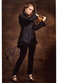 Julia Fischer Violinist Autograph IP Signed Photo | eBay