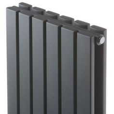 """Sloane - Anthracite Vertical Double Flat Panel Designer Radiator 63"""" x 14"""" for Closed Loop Systems"""