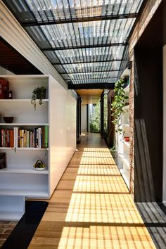 Interior Architecture, Interior And Exterior, Interior Design, Skylight Design, Porch Kits, Building A Porch, Home Improvement Loans, House With Porch, Patio Roof