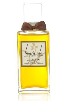 Beatitude Joy Bath Oil - WIN Free MyShowcase.com Beauty Products - Competition (EasyLiving.co.uk)