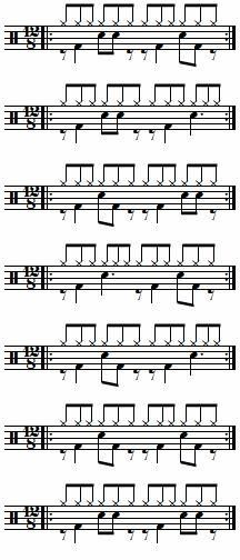 Photo Drum Sheet Music, Drums Sheet, Drum Lessons, Music Lessons, Drum Patterns, Oil Drum, Music Theory, Musical, Drummers