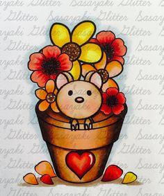 Sasayaki Glitter Challenge Blog Digital Stamps, Copic, Challenges, Glitter, Projects, Blog, Design, Log Projects, Digi Stamps