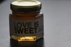 Love is Sweet Honey Wedding Favors