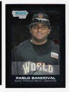 PABLO SANDOVAL 2006 Bowman Chrome Draft Picks Prospects Futures Game #FG6 Rookie Card RC San Francisco Giants Baseball by Bowman Draft. $9.99