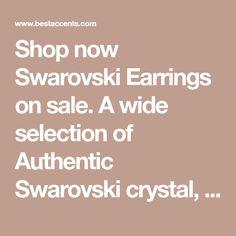 Shop now Swarovski Earrings on sale. A wide selection of Authentic Swarovski crystal, hoop, peradrop, bella, stud earrings online. FREE and FAST US SHIPPING. Earrings Online, Jewelry Stores, Swarovski Crystals, Hoop, Stud Earrings, Lingerie, Easy, Free, Stud Earring