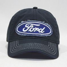 878be8d6183 New Ford Logo Navy ball Cap strapback best gift travel truck auto mustang