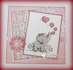 Card design using 'Blowing Bubbles' - more at http://jaybescraftybitz.blogspot.co.uk/2014/07/fantasy-stampers-challenge-15-animal.html x