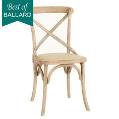 Constance Wood Side Chairs - Set of 2