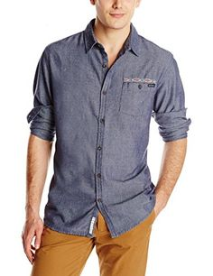 Rusty Men's Neps Long Sleeve Shirt, Navy Blue, Medium Rusty http://www.amazon.com/dp/B00MFBLV4G/ref=cm_sw_r_pi_dp_yRxzub0871KPY