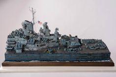USS Missouri 1/72 Scale Model Diorama