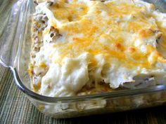 shepherd's pie-easy one with mushroom soup for a quick yummy meal