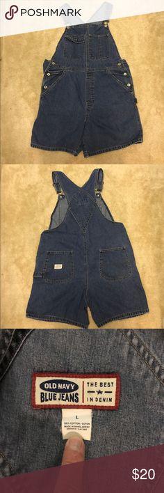 Old Navy Short Overalls Old Navy Short Overalls; EUC Old Navy Shorts