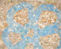 Maps, Summer, Home Decor, Summer Time, Decoration Home, Blue Prints, Room Decor, Map, Home Interior Design