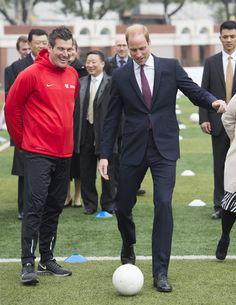 Prince William Photos: The Duke Of Cambridge Visits China - Day 3