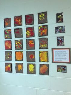 Pinecones Prints with Twig Frames (made with items collected on our fall walk)