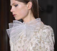 Lacey elegance. Valentino S/S '12.