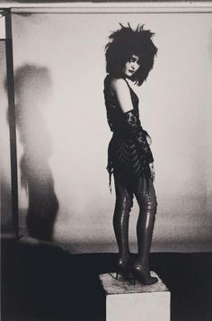 """People forget the punk thing was really good for women. It motivated them to pick up a guitar rather than be a chanteuse. It allowed us to be aggressive."" ~ Siouxsie Sioux 
