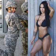 (notitle) - Hübsche Hot Girls - Women in Uniform Sexy Women, Badass Women, Fit Women, Beautiful Women Pictures, Gorgeous Women, Sexy Bikini, Mädchen In Uniform, Foto Casual, Female Soldier
