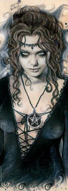 Heye Pussel: Vertical Puzzle, Favole, Pentagram by Victoria Frances 2000