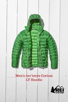 eb37f9b48279 Ready for cold-weather alpine adventures, the lightweight Arc teryx Cerium  LT down