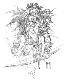 Drawings pulled from the sketchbooks of fantasy artist Steve Prescott. Sketches, Character Design, Character Art, Drawing Artist, Artist Gallery, Artist, Sword And Sorcery, Fantasy Artist, Graphic Art