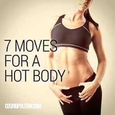 7 workout moves for a hot body