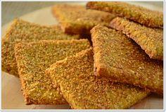 Criei esta receita de crackers/tostas nutritivas para acompanhar o baba ganoush, e ficaram perfeitas! São com base em duas farinhas diferentes, para aumentar a quantidade de nutrientes, para além do uso de sementes variadas. Estes crackers são rápidos de ...