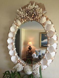 seashell mirrors | ideas about Sea Shell Mirrors on Pinterest | Shell Mirrors, Seashell ...