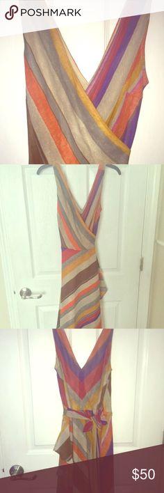 *SALE* Ralph Lauren wrap dress Multicolor, Ralph Lauren wrap dress, worn once - like new Ralph Lauren Dresses