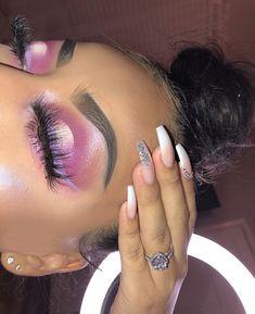 43 Hottest Eye Makeup Looks For Day And Evening - eye make up, eye shadow - Eye Makeup, Makeup Eye Looks, Dark Skin Makeup, Creative Makeup Looks, Flawless Makeup, Glam Makeup, Gorgeous Makeup, Pretty Makeup, Beauty Makeup