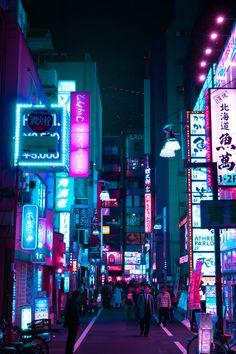 cyberpunk night photography shibuya cyberpunk city street at night lanterns toky. - cyberpunk night photography shibuya cyberpunk city street at night lanterns tokyo signs neon signs - # Cyberpunk City, Ville Cyberpunk, Arte Cyberpunk, Cyberpunk Aesthetic, Cyberpunk 2077, Watercolor Wallpaper Iphone, Neon Wallpaper, Wallpaper Quotes, Aesthetic Japan