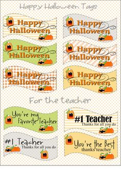 It's Written on the Wall: Halloween Treat Box/Place Card and Gift