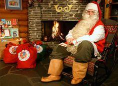 Bienvenue Sur La Web-Télé Du Père Noël En Laponie
