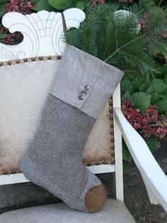 33 beautiful christmas stockings worth hanging - Christmas Stockings For Men